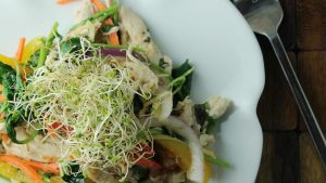 spring-chicken-and-vegetable-bowl