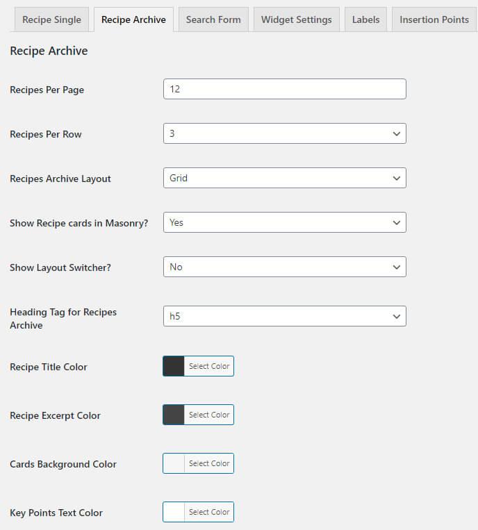 boo-recipe-archive-page-setting